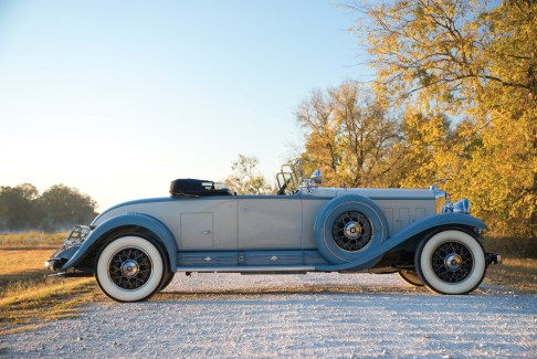 @1930 Cadillac V-16 Roadster by Fleetwood - 5