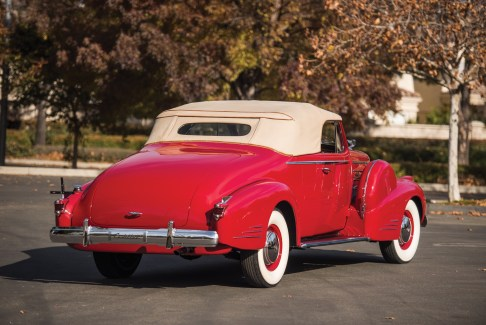 @1938 Cadillac V-16 Convertible Coupe by Fleetwood - 9