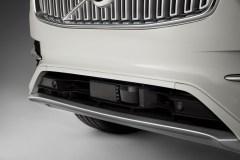 Lidar on Volvo's XC90 Drive Me car