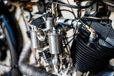 @1928 Brough Superior SS100 Moby Dick - 6