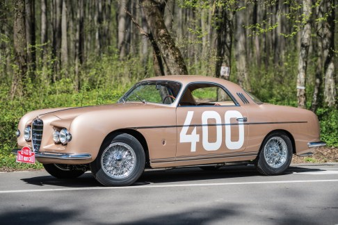 @1953 Alfa Romeo 1900C Sprint Supergioiello by Ghia - 18
