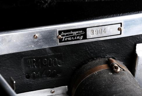 1953 Alfa Romeo 1900 Corto Gara Stradale 15