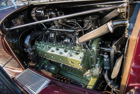 @1932 Packard Twin Six Individual Custom Convertible Sedan by Dietrich - 9