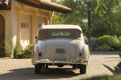 @1941 Packard Custom Super Eight One Eighty Convertible Victoria by Darrin - 7