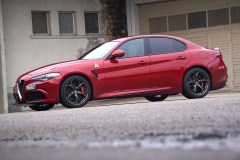 @Alfa Romeo Giulia QV Test - 18