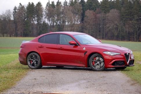 @Alfa Romeo Giulia QV Test - 34