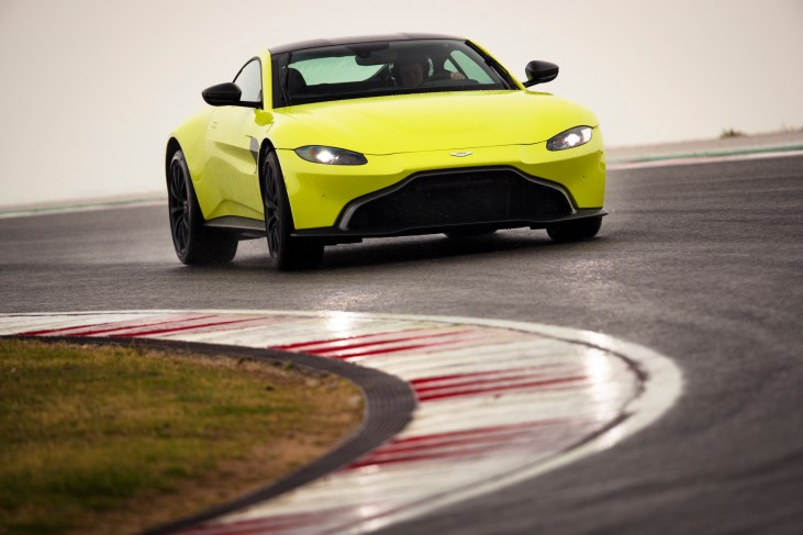 Aston Martin Vantage. Portugal. February / March 2018Photo: Drew Gibson