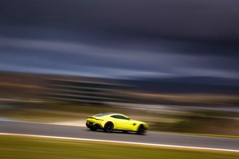 Aston Martin Vantage. Portugal. February / March 2018Photo: Drew Gibson