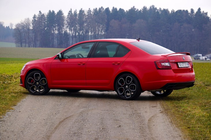@Test Skoda Octavia RS 245 - 4