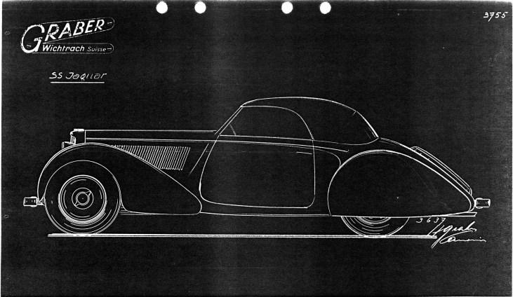@1938 Jaguar SS Coupé by Graber - 22
