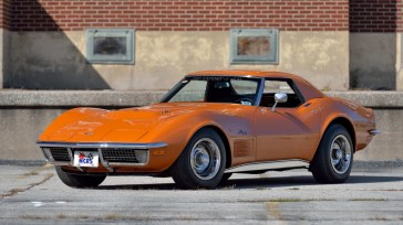 @1971 CHEVROLET CORVETTE ZR2 CONVERTIBLE - 1