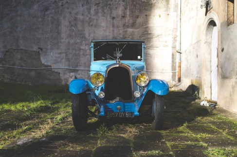 @1928 Voisin C11 Cabriolet Valse bleue - 1
