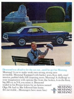 Selling the Ford Mustang – 1960s Style