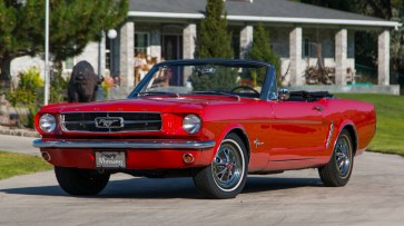 @1965 FORD MUSTANG CONVERTIBLE-200 - 1