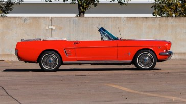 @1966 FORD MUSTANG CONVERTIBLE - 8