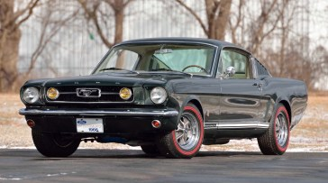 @1966 FORD MUSTANG GT FASTBACK - 1