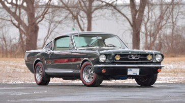 @1966 FORD MUSTANG GT FASTBACK - 12