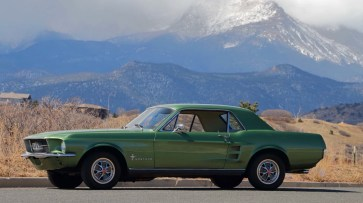@67 Mustang Coupe 289 - 2