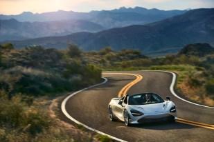McLaren 720S Spider and 600LT Spider Global Test Drive - Arizona - Jan-Feb 2019
