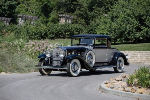 @1930 Cadillac V-16 Two-Passenger Coupe Fleetwood-701540 - 1