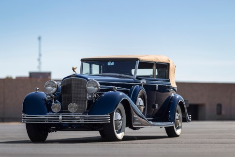 @1933 Cadillac V-16 All-Weather Phaeton by Fleetwood-5000082 - 1