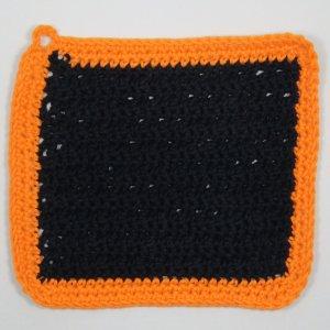 Black_with_Orange_Border_Rustic_Crochet_Cloth.j