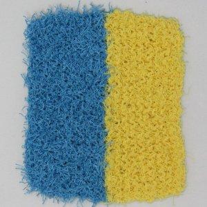 Blue Yellow Scrubbie
