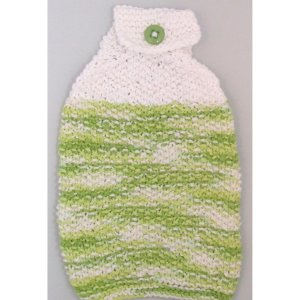 WhiteGreen Bottom Knit Towel