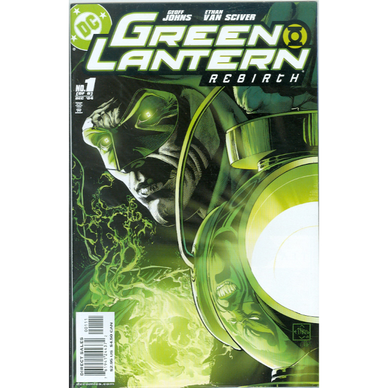 Green Lantern Rebirth 1 2nd