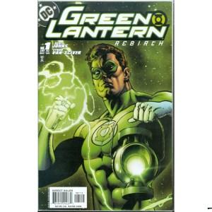 Green Lantern Rebirth 1 Variant