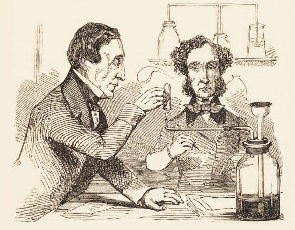 Analisi di laboratorio nel 1856