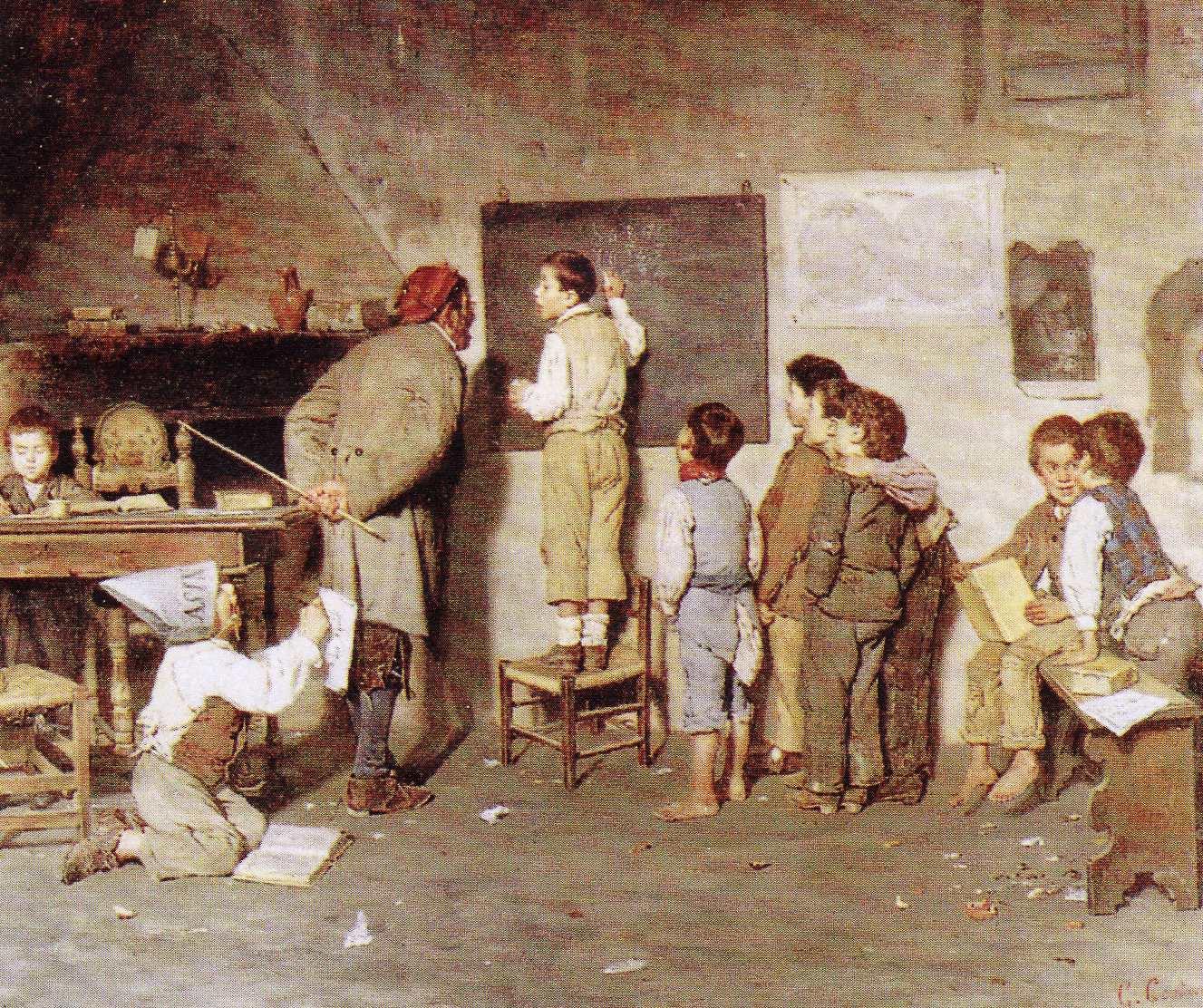G. Costantini - La scuola del villaggio. Classi popolari italiane a metà Ottocento.