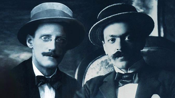 James Joyce e Italo Svevo.