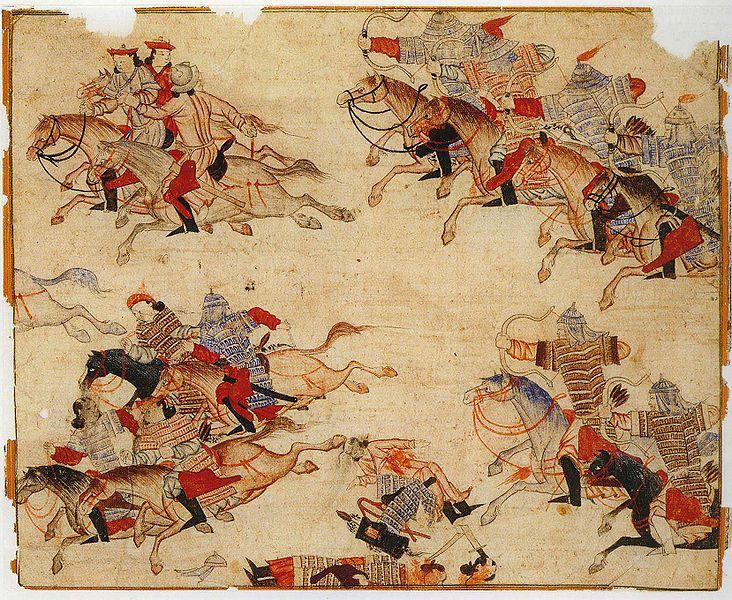 guerrieri mongoli