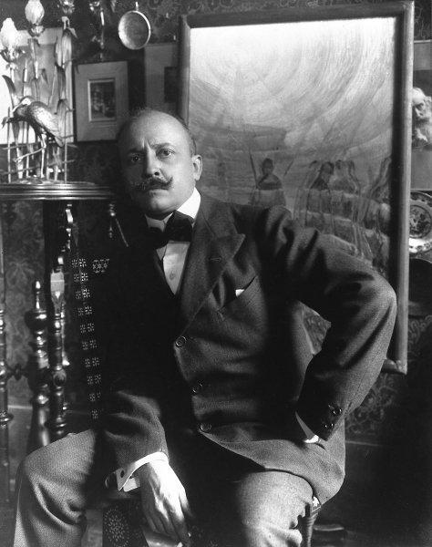 Filippo Tommaso Marinetti.