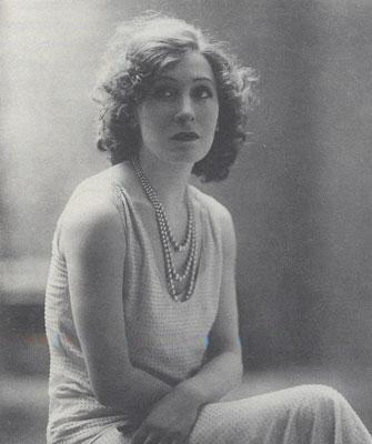L'attrice Marta Abba, di cui Pirandello era innamorato.