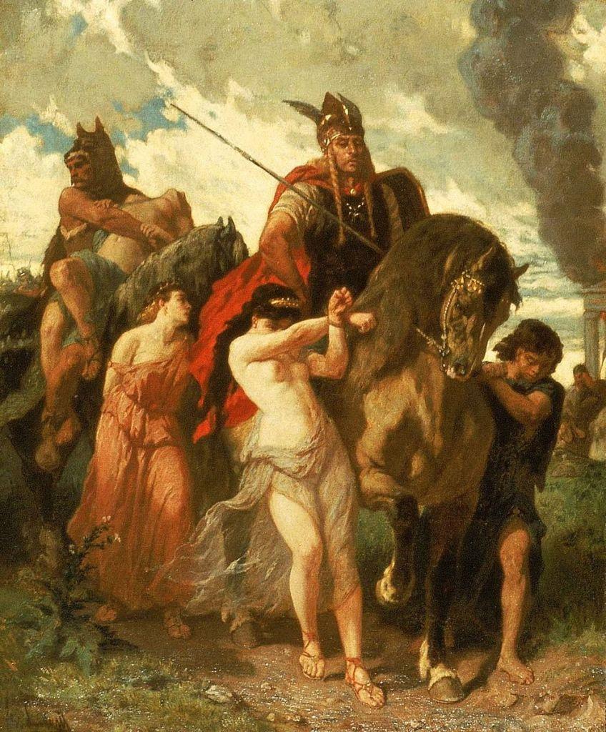 Evariste-Vital Luminais, L'invasione (1872)