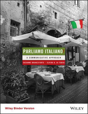La copertina di questo manuale identifica l'Italia con la sua cucina, in un tipico ristorante di un centro storico.