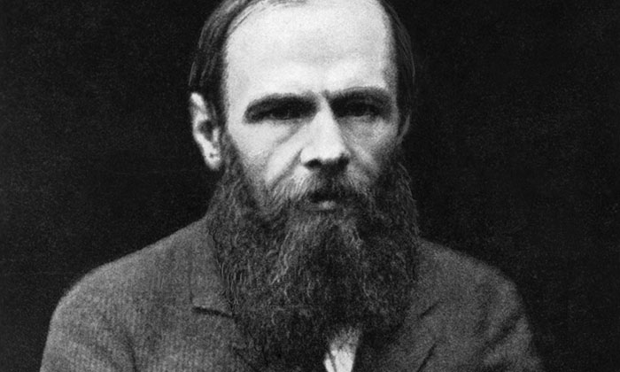 Feodor Dostoyevsky (1821-1881). Undated photograph. --- Image by © Bettmann/CORBIS