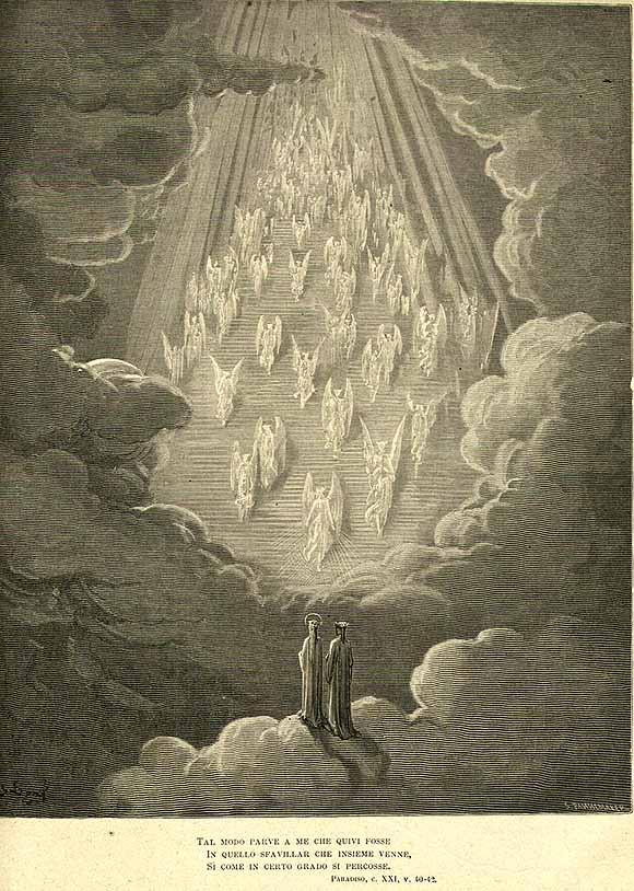 Gustave Doré, illustrazione di Paradiso XXI
