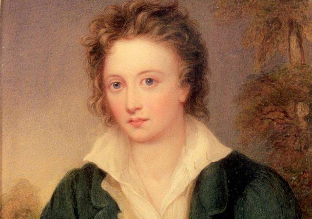 Un ritratto di Percy Byssey Shelley. Immagine reperibile a questo link.