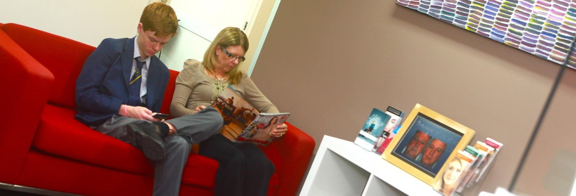 Radien Dermatology Waiting Room