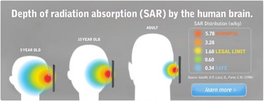 More SARs (Specific Absorption Rate)