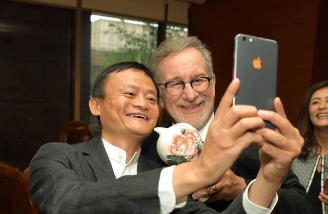 Jack Ma's Selfie with Steven Spielberg Has Chinese Netizens Asking a Different Question