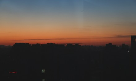Photo of the day: Beijing Sunset