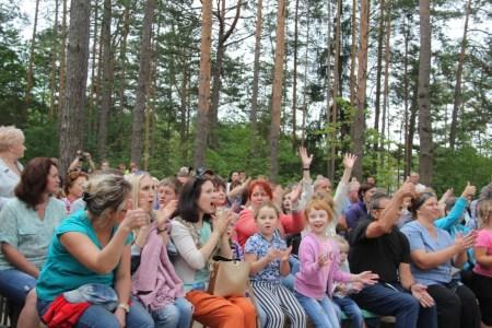 Семейный праздник в лагере «Новокемп» для детей и родителей.