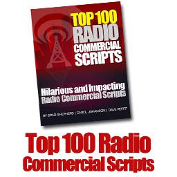 Radio Commercial Scripts Top 100 Scripts