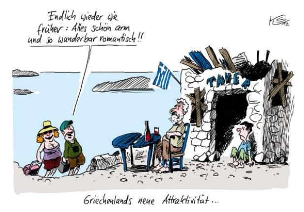 Bildergebnis für griechenland katastrophe karikaturen