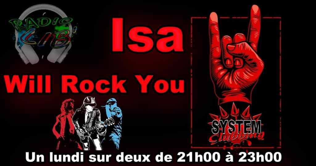 """Isa """"will rock you"""""""