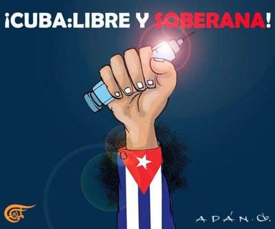 Cuba es libre, independiente y soberana